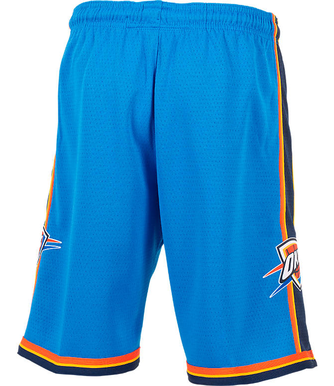 Product 4 view of Kids' Nike Oklahoma City Thunder NBA Swingman Shorts in Signal Blue