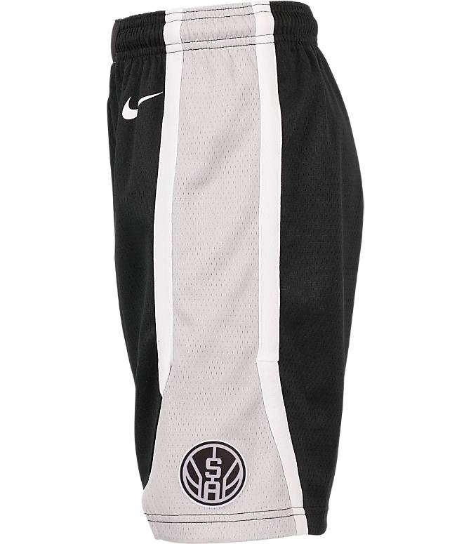 Product 3 view of Kids' Nike San Antonio Spurs NBA Swingman Shorts in Black