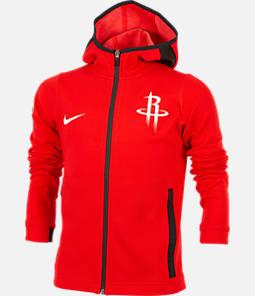 Kids' Nike Houston Rockets NBA Showtime Full-Zip Hoodie