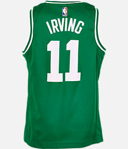Kids' Nike Boston Celtics NBA Kyrie Irving Icon Edition Swingman Jersey