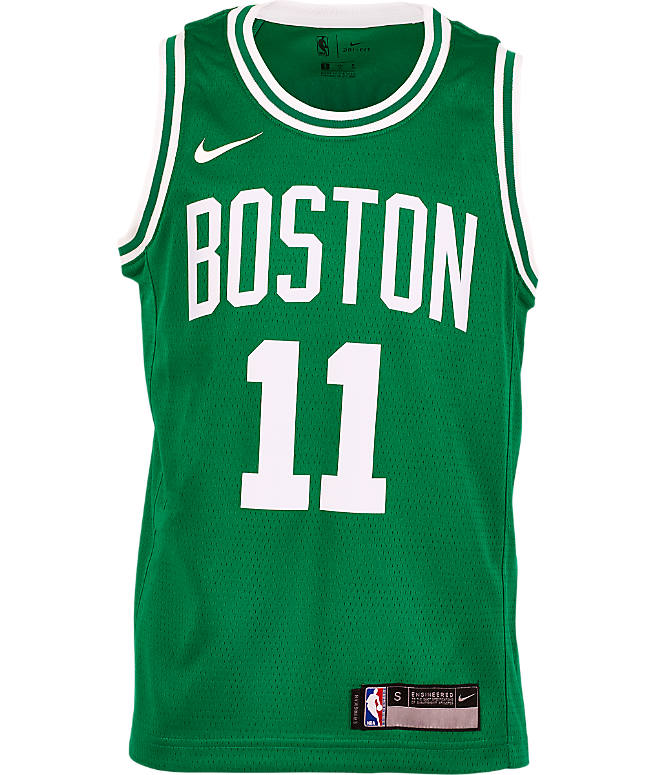 786c115fd Back view of Kids  Nike Boston Celtics NBA Kyrie Irving Icon Edition  Swingman Jersey in