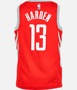 Kids  Nike Houston Rockets NBA James Harden Icon Edition Swingman Jersey 5d8773222