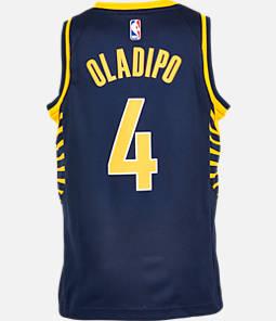 Kids' Nike Indiana Pacers NBA Victor Oladipo Icon Edition Swingman Jersey