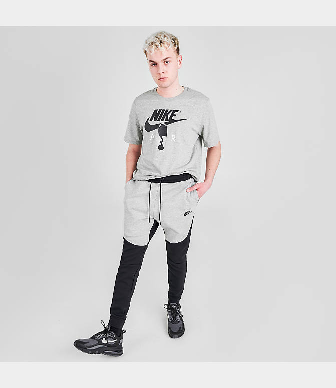 nike tech fleece pants black xs