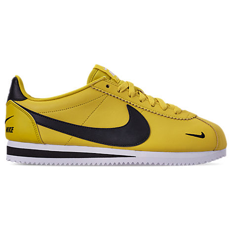 Men'S Classic Cortez Premium Casual Shoes, Yellow