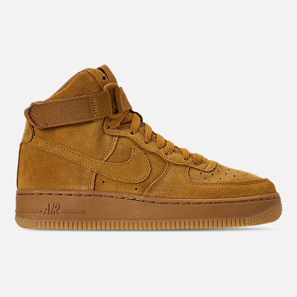 Right view of Boys' Big Kids' Nike Air Force 1 High LV8 Casual Shoes