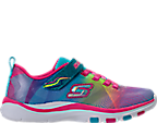 Girls' Preschool Skechers Trainer Lite - Dash N Dazzle Hook-and-Loop Running Shoes
