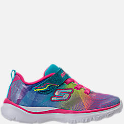 Girls' Toddler Skechers Trainer Lite - Dash N Dazzle Hook-and-Loop Running Shoes