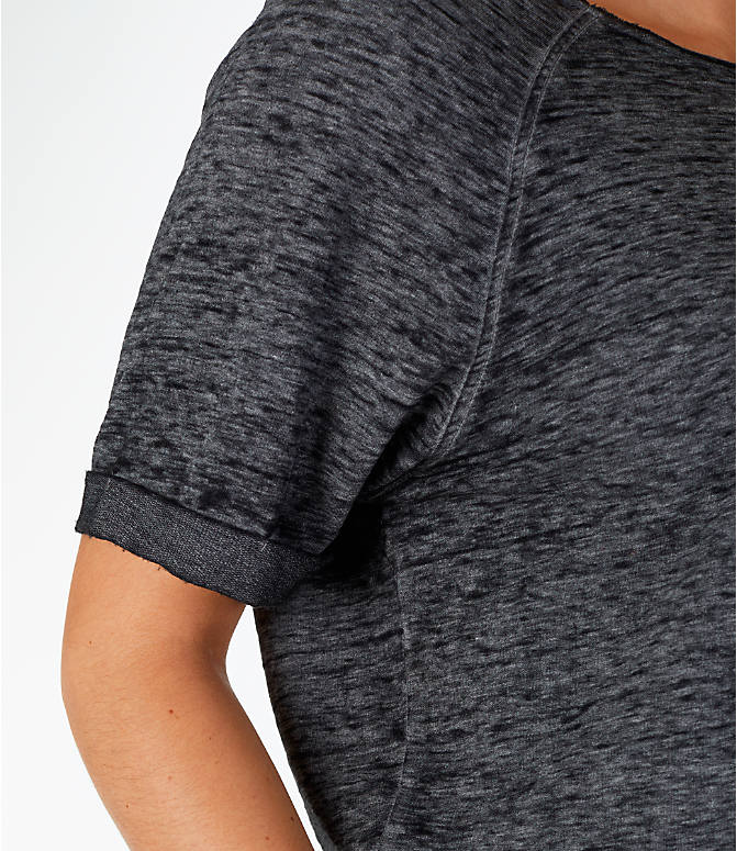 Detail 1 view of Women's Activ8 French Terry T-Shirt in Grey