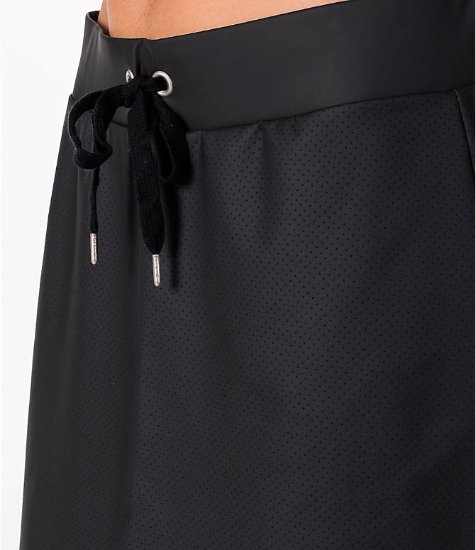 Detail 1 view of Women's Activ8 Perforated Faux Leather Skirt in Black