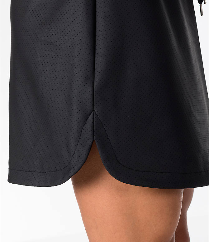Detail 2 view of Women's Activ8 Perforated Faux Leather Skirt in Black