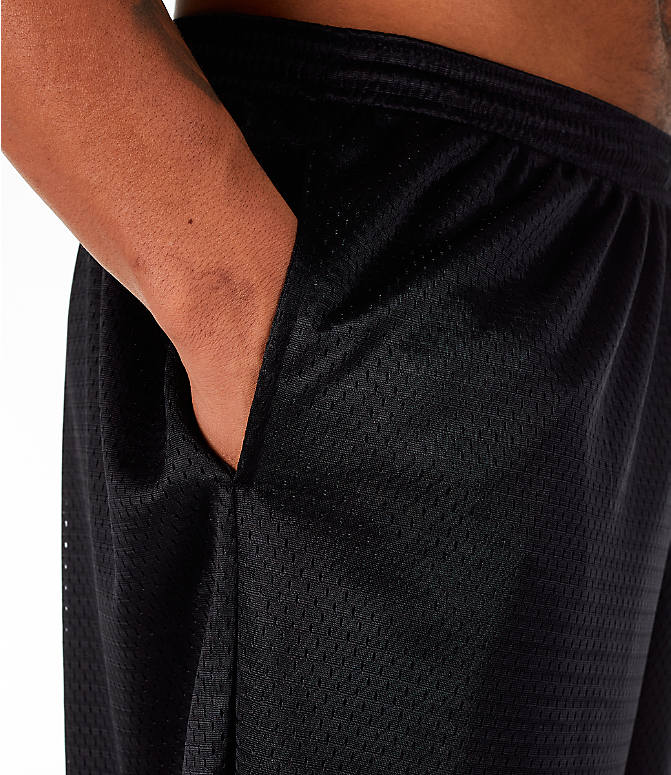 Detail 1 view of Men's Champion Classic Mesh Shorts in Black