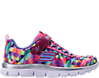Girls' Preschool Skechers Skech Appeal Color Daze Athletic Shoes