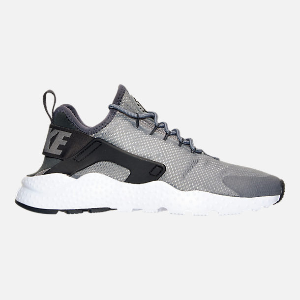 Right view of Women's Nike Air Huarache Run Ultra Casual Shoes in Cool Grey/Anthracite/Black/White
