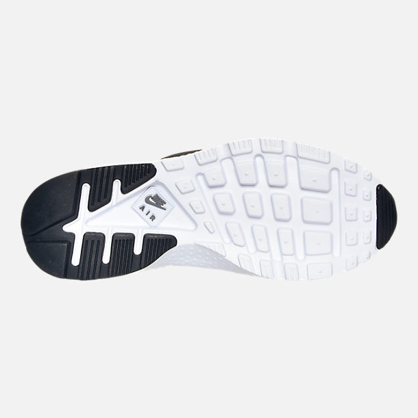 Bottom view of Women's Nike Air Huarache Run Ultra Casual Shoes in Cool Grey/Anthracite/Black/White