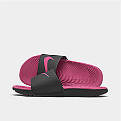 best service 67460 55e99 Girls  Big Kids  Nike Kawa Slide Sandals
