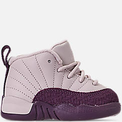7469f433057bb2 Girls  Toddler Air Jordan Retro 12 Basketball Shoes