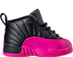 Girls' Toddler Air Jordan Retro 12 Basketball Shoes
