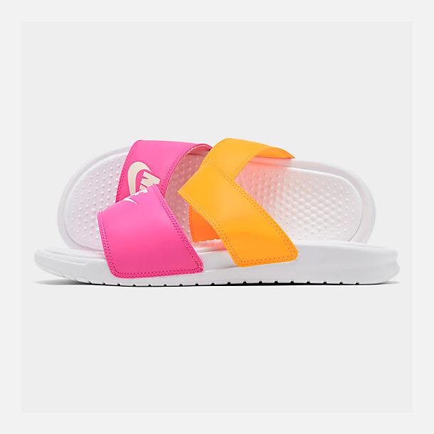 official photos 8ef14 7b595 Women's Nike Benassi Duo Ultra Slide Sandals