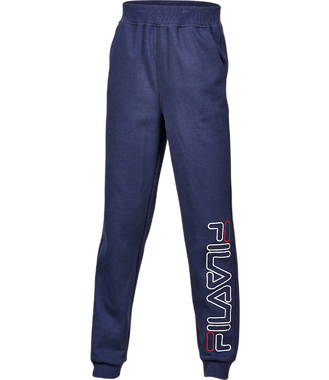 Front view of Boys' Fila Heritage Jogger Pants