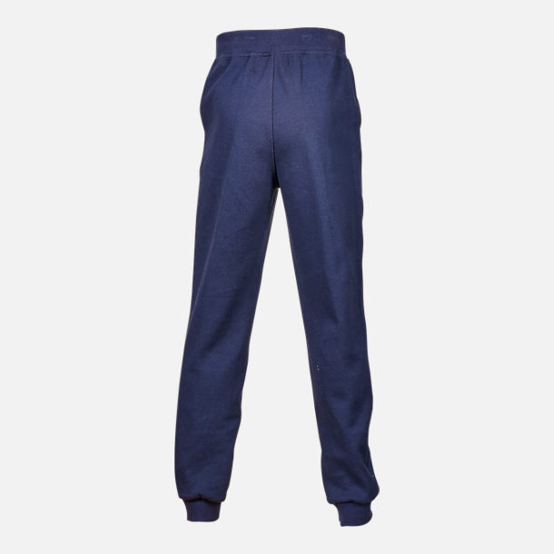Back view of Boys' Fila Heritage Jogger Pants in Navy