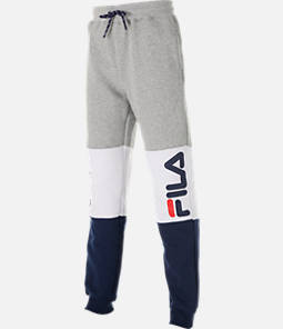 Boys' Fila Colorblock Jogger Pants