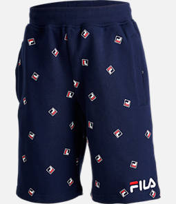 Boys' Fila Allover Print Shorts