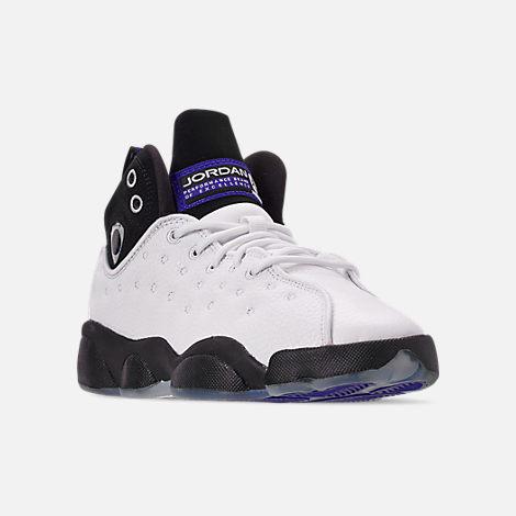 online store ba80b d86ad Three Quarter view of Boys' Big Kids' Jordan Jumpman Team II Basketball  Shoes in