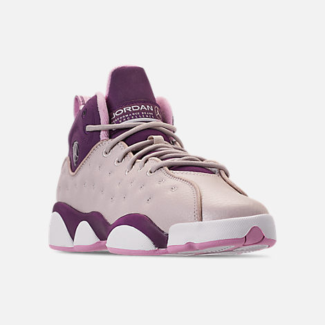 2a51e07f4e4eaa Girls  Big Kids  Jordan Jumpman Team II (3.5y-9.5y) Basketball Shoes ...