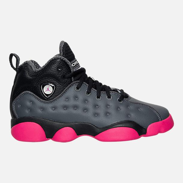28d6894afee Girls' Big Kids' Jordan Jumpman Team II (3.5y-9.5y) Basketball Shoes ...