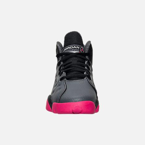 4b10a06def Girls' Big Kids' Jordan Jumpman Team II (3.5y-9.5y) Basketball Shoes ...