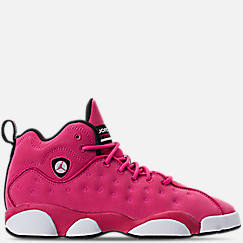 Girls' Big Kids' Jordan Jumpman Team II (3.5y-9.5y) Basketball Shoes