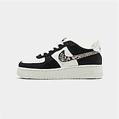 Boys' Big Kids' Nike NBA Air Force 1 Low LV8 Casual Shoes