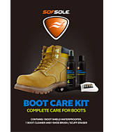 Sof Sole Boot Care Cleaning and Waterproofing Kit