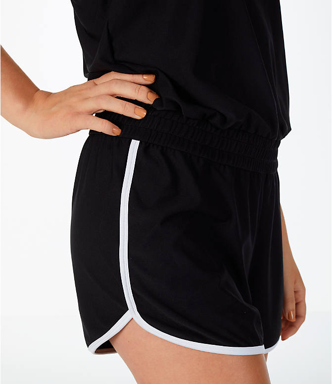 Detail 1 view of Women's Activ8 Romper in Black