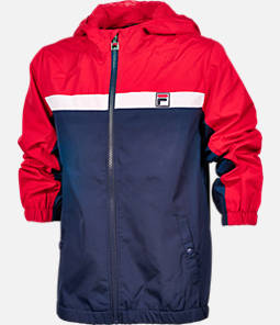 Kids' Fila Heritage Windbreaker Jacket