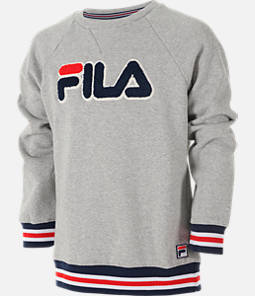Boys' Fila Varsity Crewneck Sweatshirt