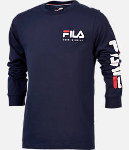 Boys' FILA Origins Long-Sleeve T-Shirt