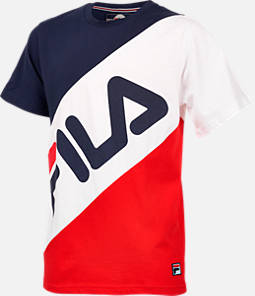 Boys' Fila Striped T-Shirt