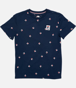 Boys' FILA Heritage All-Over Print T-Shirt