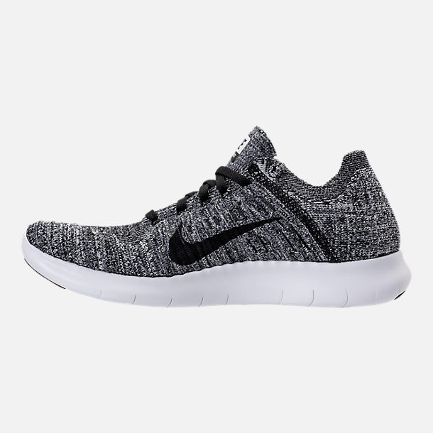 Left view of Women's Nike Free RN Flyknit Running Shoes