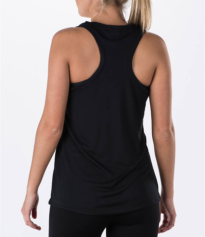 Back Left view of Women's Nike Essential Tank