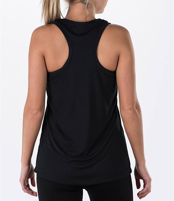 Back Right view of Women's Nike Essential Tank