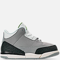 Kids' Toddler Jordan Retro 3 Basketball Shoes