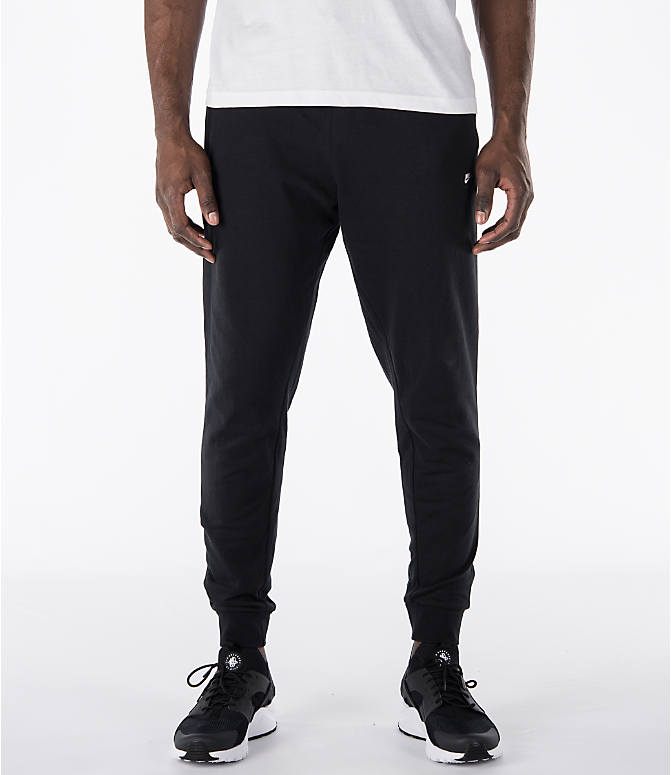 Front view of Men's Nike Sportswear Modern Jogger Pants in Black