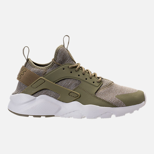 Right view of Men's Nike Air Huarache Ultra Breathe Casual Shoes in  Trooper/Summit White