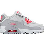 Girls' Preschool Nike Air Max 90 Leather Running Shoes