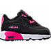 Girls' Toddler Nike Air Max 90 Leather Running Shoes Product Image