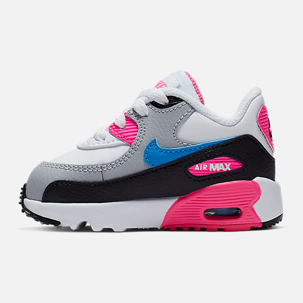 size 40 64058 c4454 Girls' Toddler Nike Air Max 90 Leather Casual Shoes