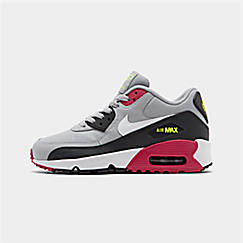 Big Kids' Nike Air Max 90 Leather Casual Shoes